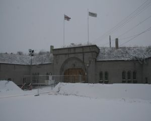 Front Of Fort Snow