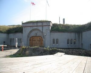 Front Of Fort